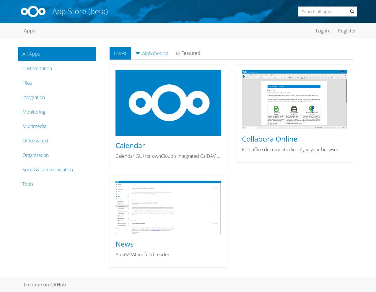 Nouveautés de l'été: Nextcloud 10, ownCloud 9.1, CEO ownCloud, magasins d'applications