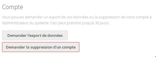 nc14 demande export données