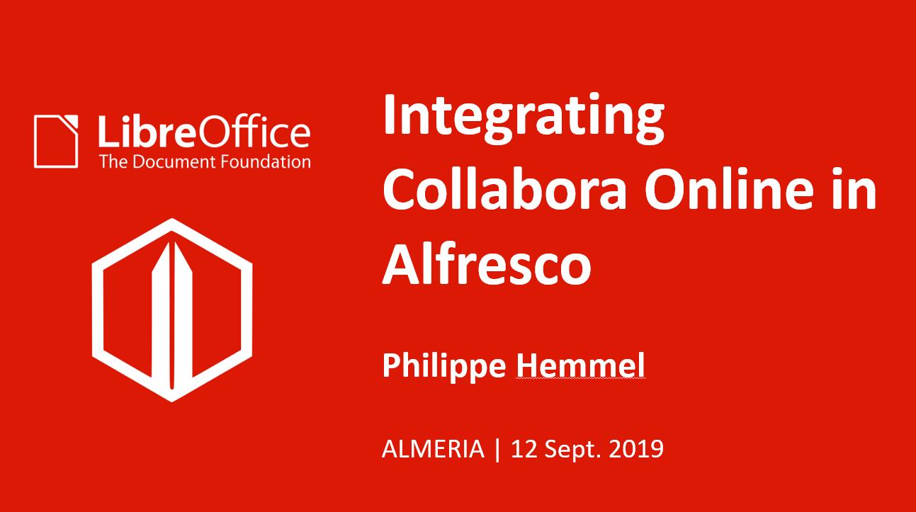 Connecteur Alfresco / Collabora Online