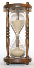 118px Wooden hourglass 3