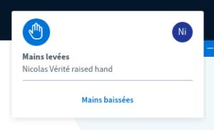 Notification de main levée